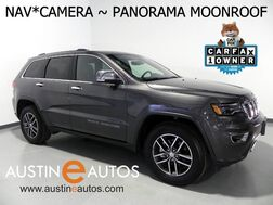 2018_Jeep_Grand Cherokee Limited_*LUXURY GROUP II, NAVIGATION, BACKUP-CAM, CLIMATE SEATS, PANORAMA ROOF, BLUETOOTH_ Round Rock TX