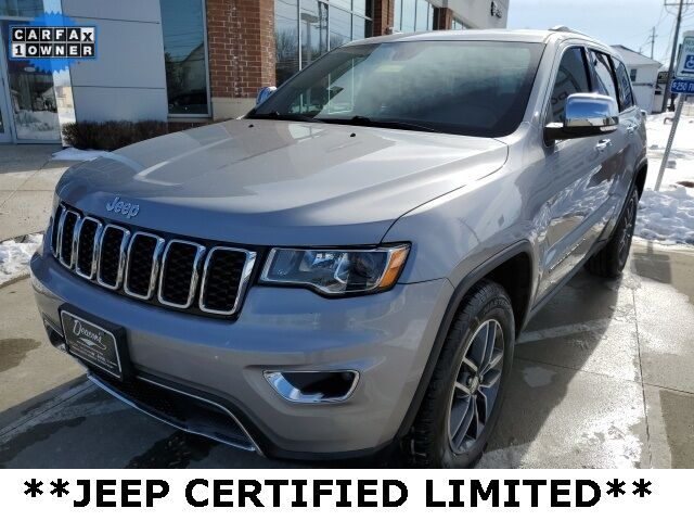 2018 Jeep Grand Cherokee Limited Mayfield Village OH