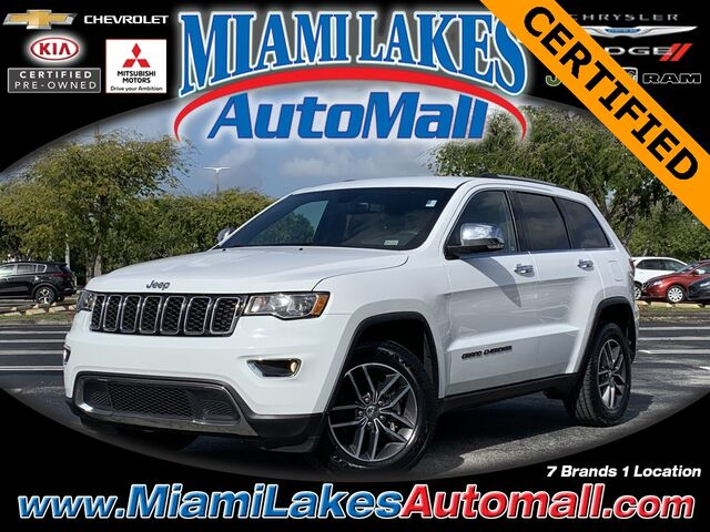2018 Jeep Grand Cherokee Limited Miami Lakes FL