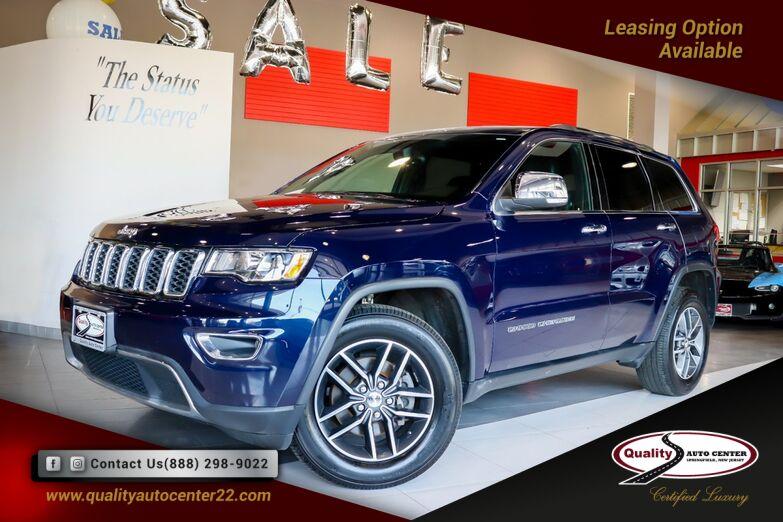 2018 Jeep Grand Cherokee Limited Nav, Sunroof Springfield NJ