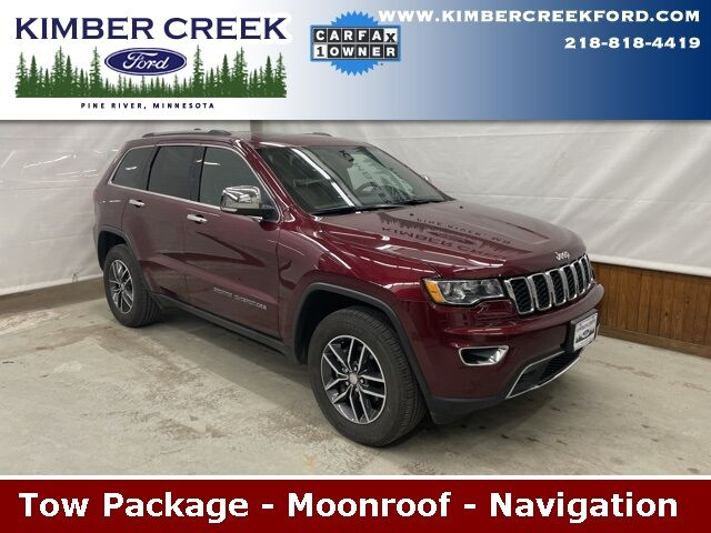 2018 Jeep Grand Cherokee Limited Pine River MN