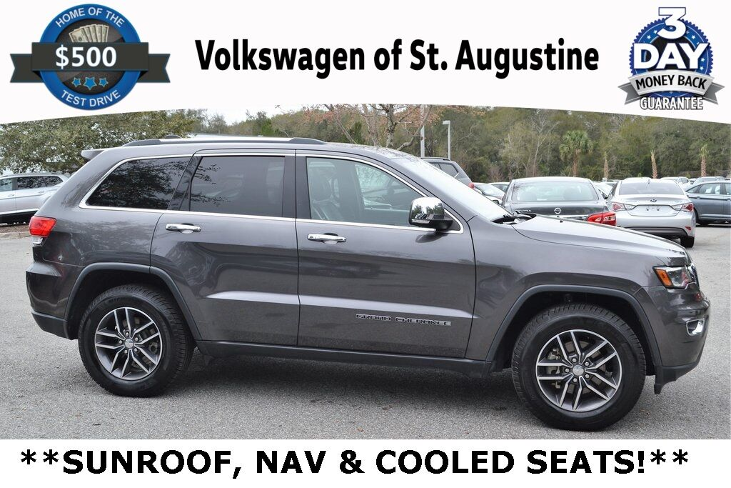 2018 Jeep Grand Cherokee Limited St. Augustine FL