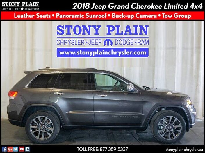 2018 Jeep Grand Cherokee Limited Stony Plain AB