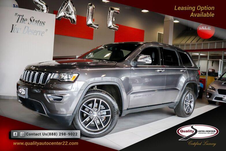 2018 Jeep Grand Cherokee Limited Sunroof, Apple Car Play Springfield NJ