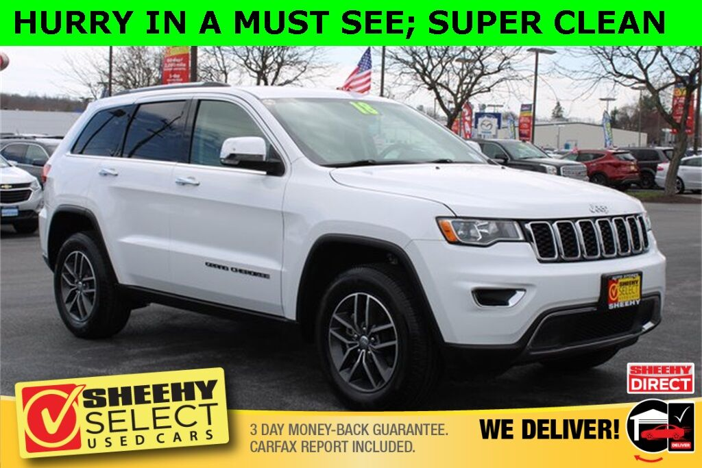 2018 Jeep Grand Cherokee Limited Hagerstown MD