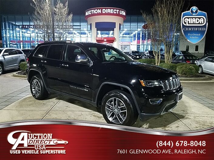 2018 Jeep Grand Cherokee Limited Raleigh