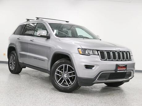 2018 Jeep Grand Cherokee Limtied 1 Owner Leather 8.4 Nav and Back Up Screen Roof Blind Spot Hickory Hills IL