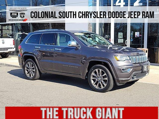 2018 Jeep Grand Cherokee Overland 4x4 Dartmouth MA