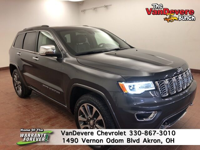 2018 Jeep Grand Cherokee Overland Akron