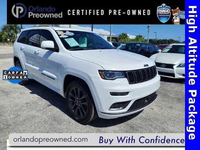 2018 Jeep Grand Cherokee Overland Orlando FL