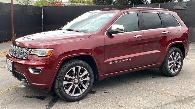 2018 Jeep Grand Cherokee Overland Pasadena CA