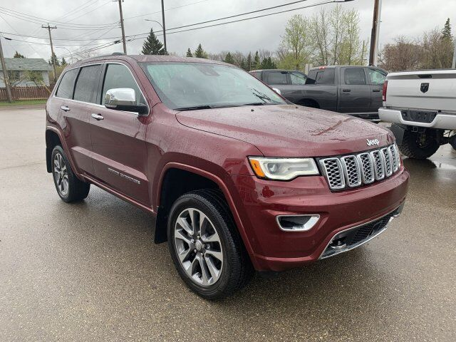 2018 Jeep Grand Cherokee Overland Redwater AB