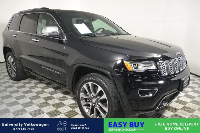 2018 Jeep Grand Cherokee Overland Seattle WA