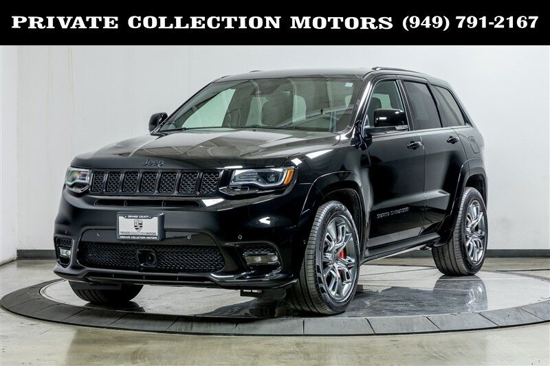 2018_Jeep_Grand Cherokee_SRT_ Costa Mesa CA