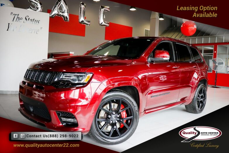 2018 Jeep Grand Cherokee SRT Signature Leather Wrapped Interior Package, Pano Roof Springfield NJ