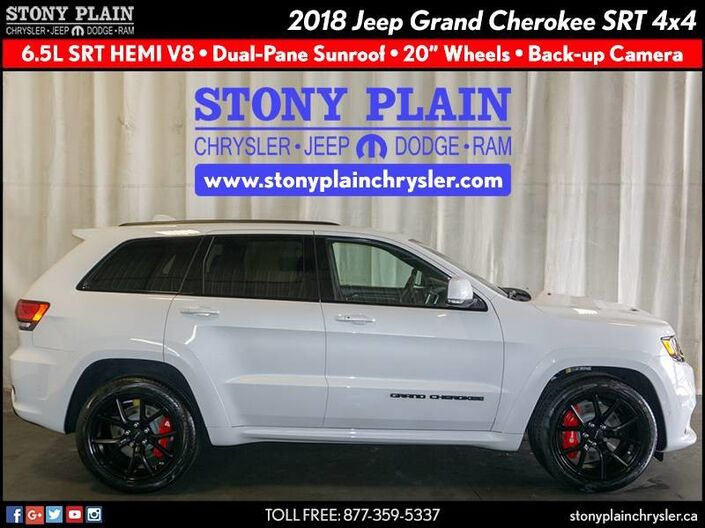 2018 Jeep Grand Cherokee SRT Stony Plain AB