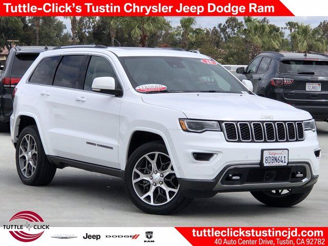 2018 Jeep Grand Cherokee Sterling Edition Tustin CA