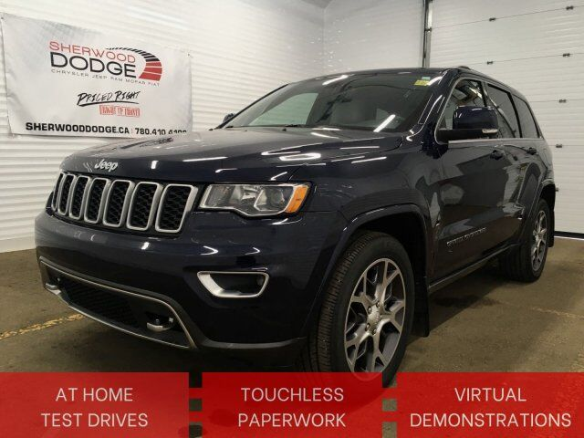 2018 Jeep Grand Cherokee Sterling Edition | HTD 1/2 ROW | LUXURY PKG | CLN CARFAX