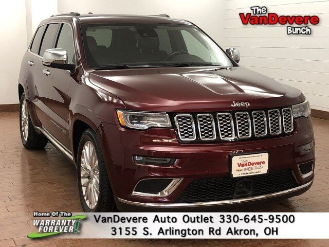 2018 Jeep Grand Cherokee Summit Akron OH