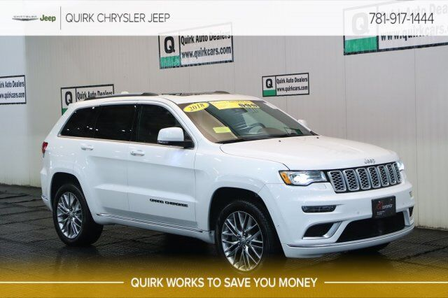 2018 Jeep Grand Cherokee >> 2018 Jeep Grand Cherokee Summit