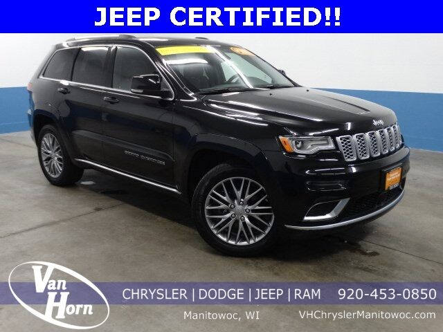 2018 Jeep Grand Cherokee Summit Plymouth WI
