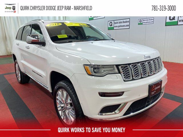 2018 Jeep Grand Cherokee Summit Marshfield MA