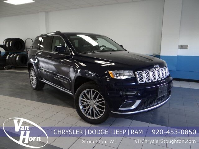 2018 Jeep Grand Cherokee Summit Stoughton WI