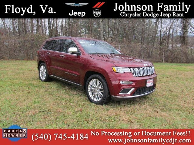 2018 Jeep Grand Cherokee Summit Woodlawn VA