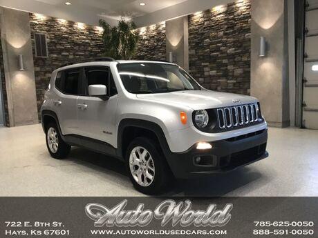 2018 Jeep RENEGADE LATITUDE 4X4  Hays KS