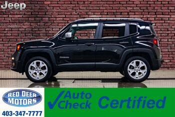 2018_Jeep_Renegade_4x4 Limited Leather Roof Nav BCam_ Red Deer AB
