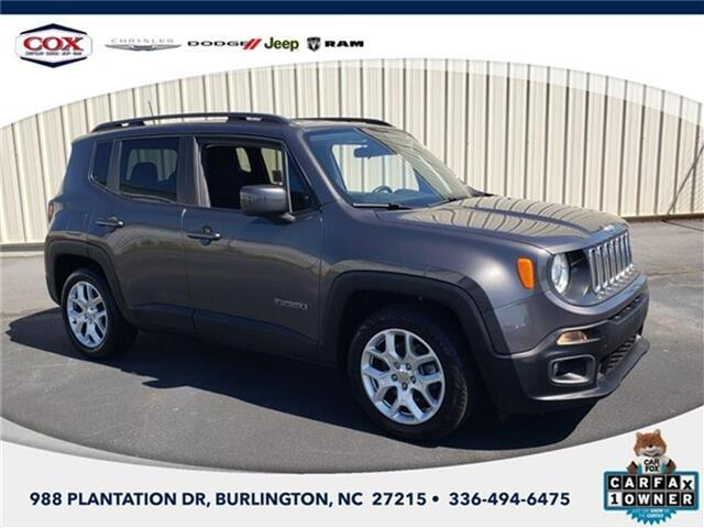 2018 Jeep Renegade LATI Burlington NC