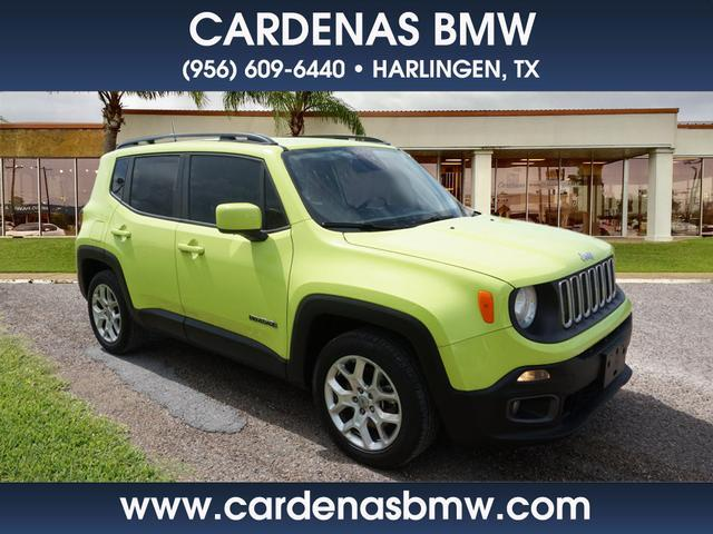 2018 Jeep Renegade Latitude Harlingen TX