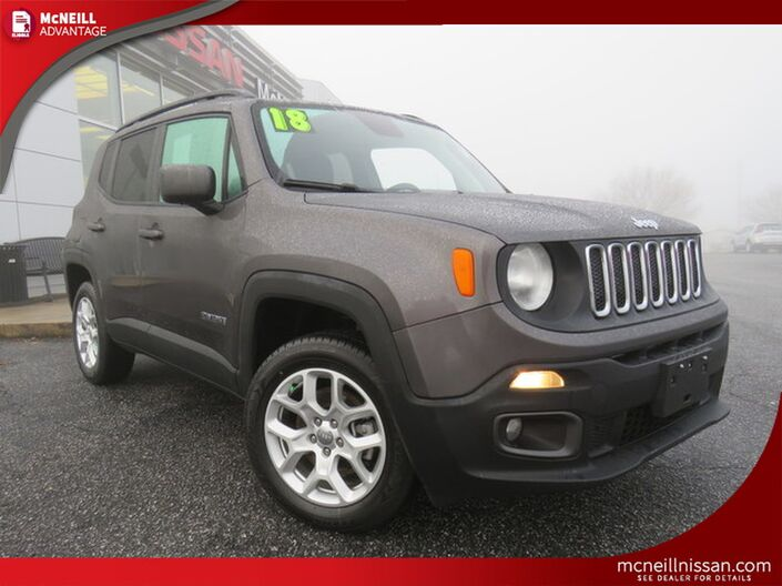 2018 Jeep Renegade Latitude High Point NC