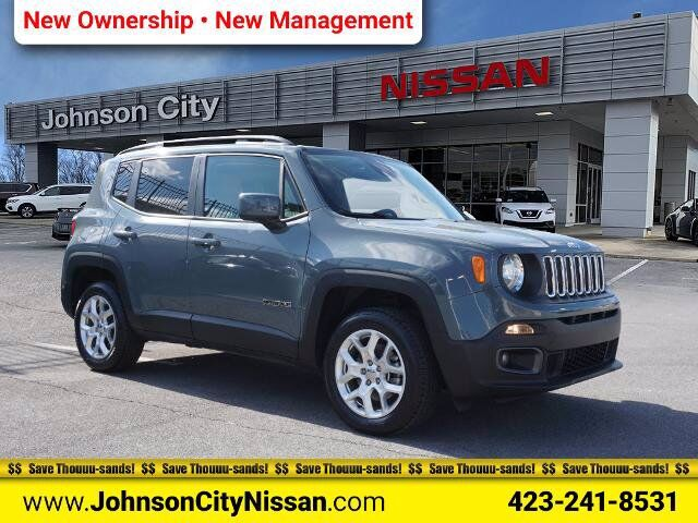 2018 Jeep Renegade Latitude Johnson City TN