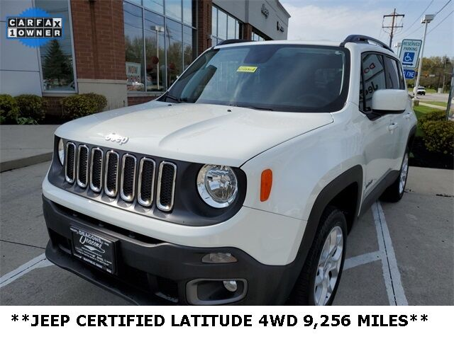 2018 Jeep Renegade Latitude Mayfield Village OH