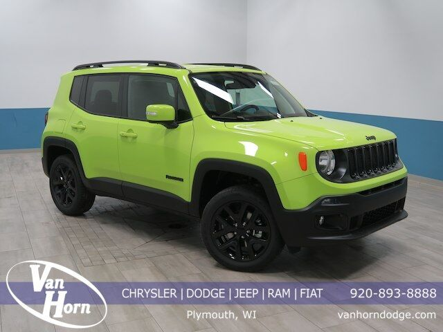 2018 Jeep Renegade Latitude Plymouth WI
