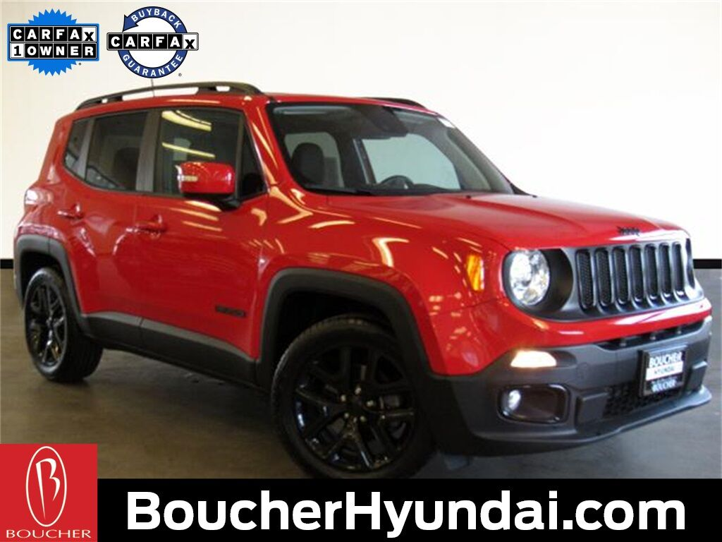 2018 Jeep Renegade Latitude w/Technology & Cold Weather Groups Waukesha WI