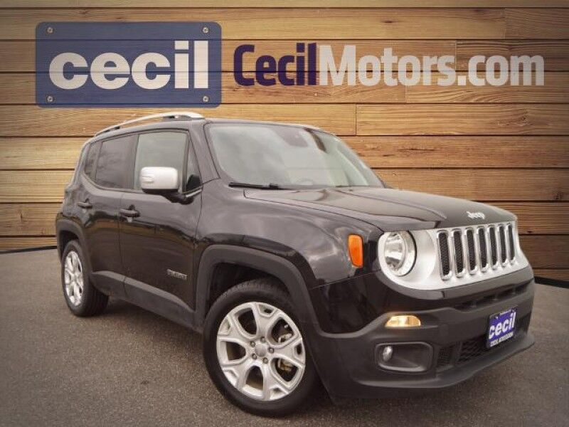 2018 Jeep Renegade Limited Orange TX