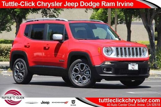 2018 Jeep Renegade Limited Irvine CA