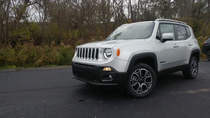 2018 Jeep Renegade Limited Rock City NY
