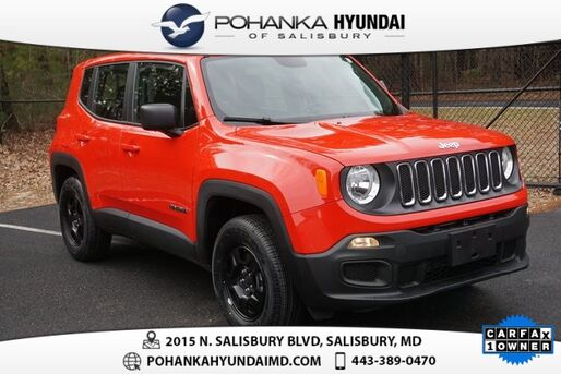 2018_Jeep_Renegade_Sport **1 OWNER**BEST MATCH**_ Salisbury MD