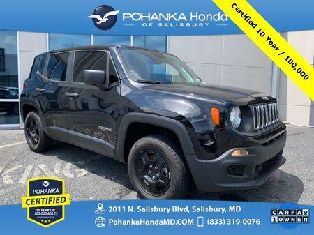 2018_Jeep_Renegade_Sport 4WD ** Pohanka Certified 10 Year / 100,000  **_ Salisbury MD