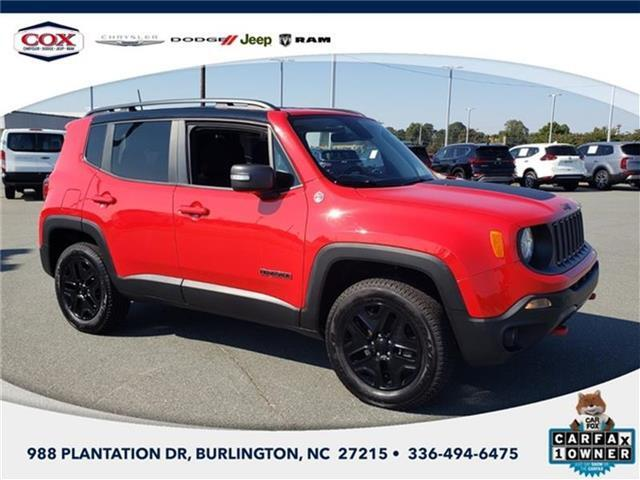 2018 Jeep Renegade Trailhawk 4x4 Burlington NC