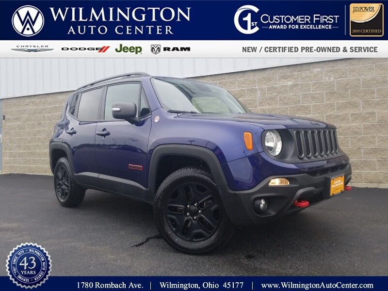 2018 Jeep Renegade Trailhawk Wilmington OH
