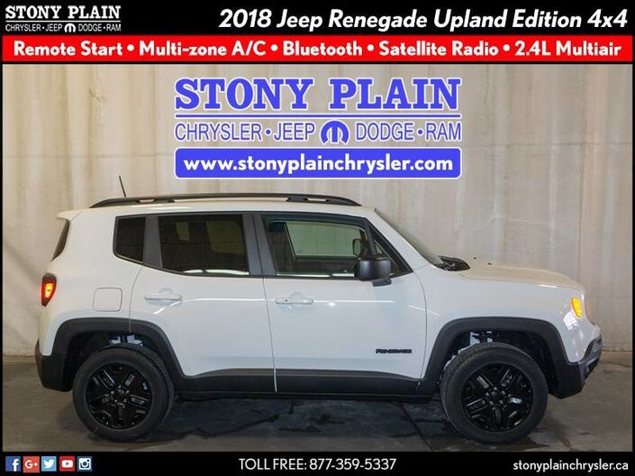 2018 Jeep Renegade Upland Edition Stony Plain AB