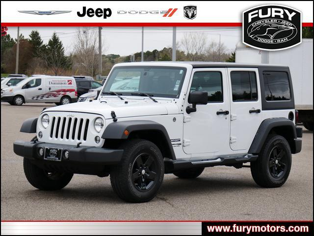 2018 Jeep WRANGLER JK UNLIMITED Sport S Oak Park Heights MN
