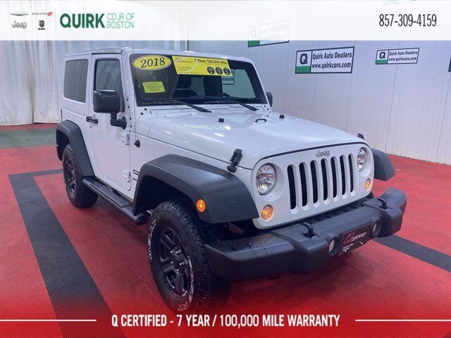 2018 Jeep Wrangler JK Sport Boston MA