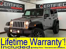 2018_Jeep_Wrangler JK_UNLIMITED SPORT LIFT KIT HARD TOP CONVERTIBLE 4WD TRAIL RATED PR_ Carrollton TX