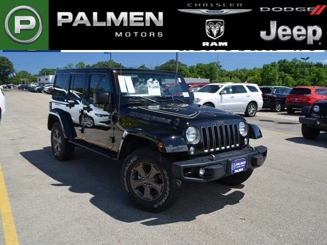 2018 Jeep Wrangler JK Unlimited Golden Eagle Kenosha WI