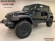 2018_Jeep_Wrangler JK Unlimited_Rubicon 3600 miles Lifted(Rancho Suspension), AEV wheels, MORE!_ Addison TX